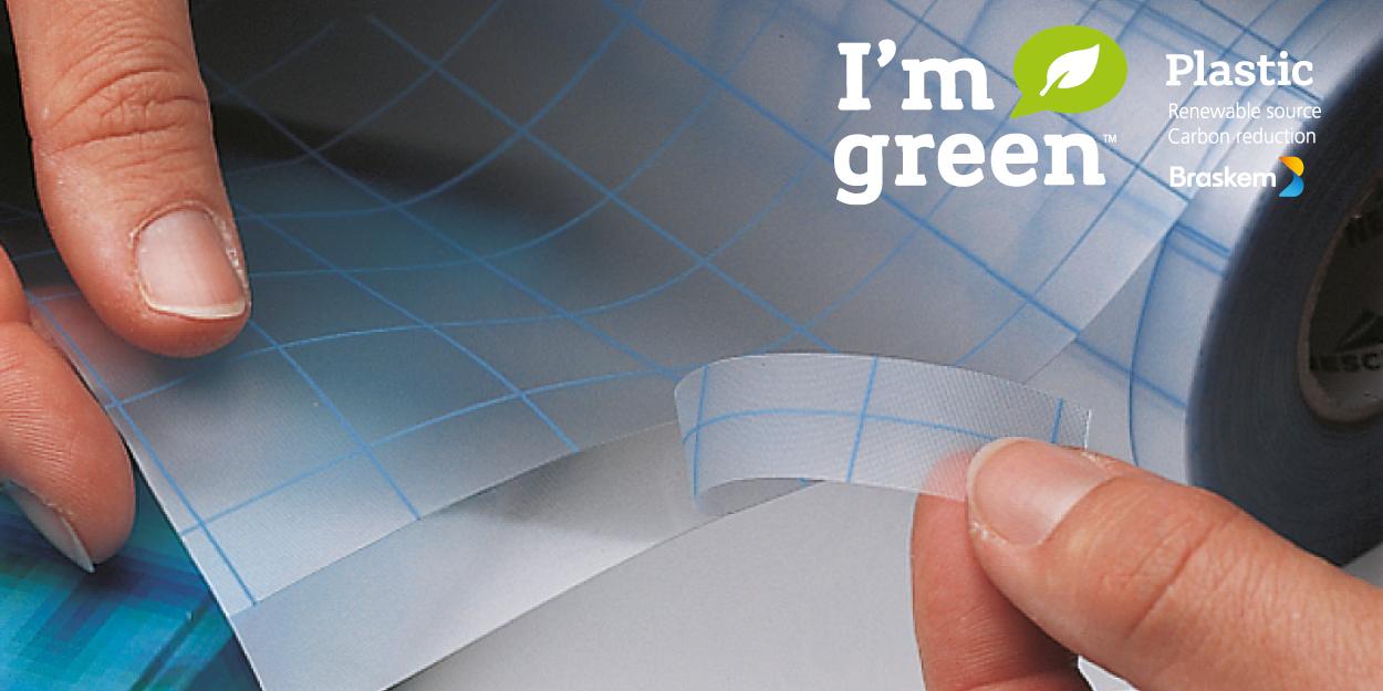 filmolux®soft organic, de nieuwe standaard in boekbescherming is groen